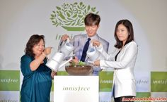 Lee Min Ho at innisfree Festa 2015 in Malaysia | Sunshine Kelly http://www.sunshinekelly.com/2015/01/lee-min-ho-at-innisfree-festa-2015-in_14.html  Lee Min Ho, Play Green, Innisfree, Innisfree Malaysia, Innisfree from Korea, Jeju Island, Innifree Festa 2015 Malaysia, Green Life Campaign, Green Campaign