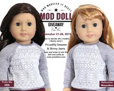 Hi everyone, The question is simple: who modelsit best? You vote to help us decide and one lucky participant will receive the winning doll as well as the Limit
