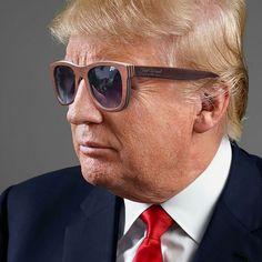 New president of the United States prefers our wooden sunglasses.  Знаменитости в деревянных очках Feel Wood Очки из дерева: оправа из LVL(шпон клена), линзы с поляризацией, фурнитура флекс. ЦЕНА от 3500 рублей #trump #woodensunglasses #sunglasses #очки #деревянныеочки #очки из #дерева #трамп