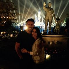 """Sean Maguire """"Thanks for a lovely evening Walt. Sean Maguire, Ouat Cast, Outlaw Queen, Captain Swan, Once Upon A Time, Disneyland, Fairy Tales, Thankful, Singer"""