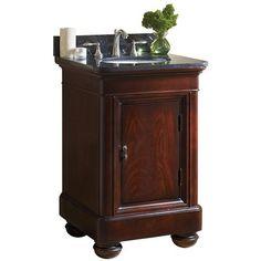 "Kaco Mount Vernon 24"" Traditional Single Sink Bathroom Vanity 893-2400 at DiscountBathroomVanities.com"