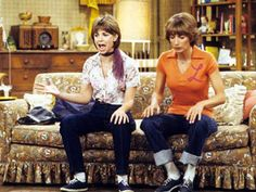 Laverne & Shirley  I was Shirley Lori was Lavern!  This was our costume one Halloween