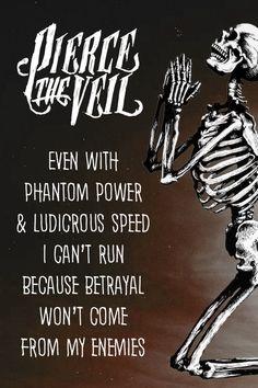 Pierce The Veil- Phantom Power And Ludicrous Speed