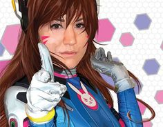 """Check out new work on my @Behance portfolio: """"OVERWATCH """"D.VA"""" COSPLAYER PORTRAIT"""" http://be.net/gallery/37119665/OVERWATCH-DVA-COSPLAYER-PORTRAIT"""