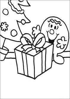 Mr. Men Tegninger til Farvelægning. Printbare Farvelægning for børn. Tegninger til udskriv og farve nº 48
