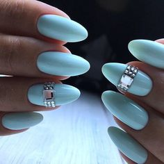 and Beautiful Nail Art Designs Silver Nails, Dark Nails, Blue Nails, Long Nails, My Nails, Silver Glitter, Manicure, Red Acrylic Nails, Nails Only