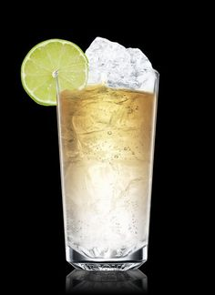 Absolut wild tea with ginger ale  - Fill a highball glass with ice cubes. Add all ingredients. Garnish with lime. 1 Part ABSOLUT WILD TEA, 1 Part Ginger Ale, 1 Wheel Lime