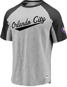 3e9ea9f61d9 MLS Men s Orlando City Goal Line Gray T-Shirt
