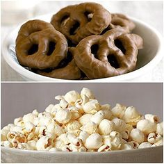 Nutrient Snack Pack 5 x White Cheddar Popcorn & 5 x Chocolate Covered Pretzels