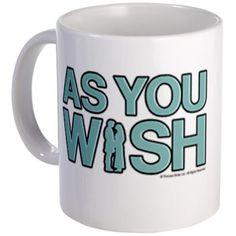 As You Wish Princess Bride Mug | Princess Bride Official Shop