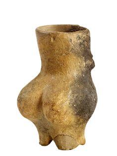Gorzsai Vénusz Körös-kultúra. Kr.e. 5.140 – 4.450., Hódmezővásárhely-Gorzsa, Kovács-tanya, Hungary. / Körös culture, Neolithic Central Europe, circa 5,800 B.C.E. — circa 5,300 B.C.E