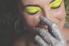 Maquiagem Futurista  Make: Vanessa Rozan  Por Carol Farina
