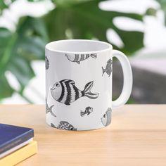 Funny Fish, Fishing Humor, Cute Mugs, Canvas Prints, Art Prints, Mug Designs, Printed, Tableware, Awesome