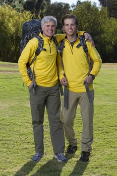 David and Connor Father and son David (left) and Connor O'Leary (right) of THE AMAZING RACE, premiering Sunday, Feb. 17 (8:00-9:00 PM, ET/PT) on the CBS Television Network. Photo: Sonja Flemming/CBS ©2012 CBS Broadcasting Inc. All Rights Reserved.
