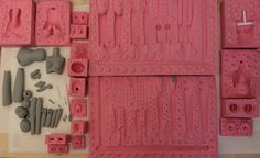 a full set of doll molds.. by BishonenHouse on DeviantArt