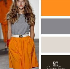 Colour Combinations Fashion, Color Combinations For Clothes, Color Combos, Chic Outfits, Fashion Outfits, Womens Fashion, Professional Outfits, Looks Style, Colorful Fashion
