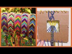 ▶ DIY #5: Tear + Pulseiras Hippie / Fazedor de Pulseira Friendship Bracelets | Igor Saringer - YouTube                                                                                                                                                      Mais