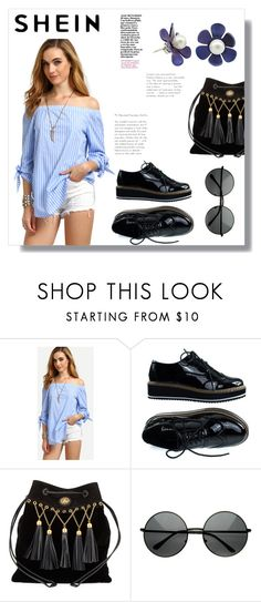 """""""Shein contest"""" by sofifer ❤ liked on Polyvore featuring Miu Miu"""