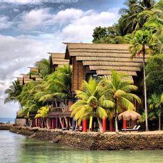 Samal Islands in Davao City, Philippines