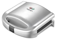 Grill Toaster Deep Non Stick Electric Sandwich Surface Dual Toast Maker French #Cuisinart