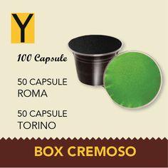 100 Capsule compatibili Nespresso BOX CREMOSO