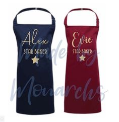 """⭐️STAR BAKER⭐️ Just over 24 hours to get your pre orders in for the """"bake off"""" style children's aprons! Suitable for ages from 3 years up to 10 years Order yours here:"""