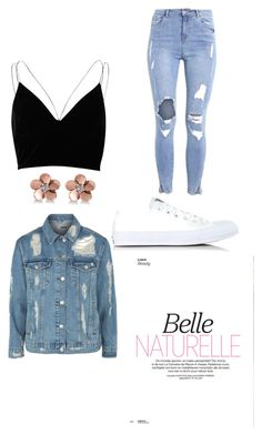 """""""Naturalle"""" by zyontayor on Polyvore featuring River Island, Topshop, Converse and Allurez"""