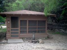 We love those cabins at Garner State Park.