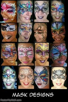 Face Painter in Salt Lake City and all over Utah Face Painting Images, Adult Face Painting, Face Painting Tips, Face Painting Designs, Lake Painting, Mask Face Paint, Face Paint Makeup, Kids Makeup, Maquillage Halloween