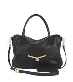 Black Valentina Satchel - one can never have too many black bags.....