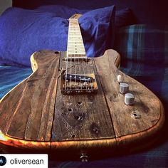 #Repost @oliversean (@get_repost) ・・・ Chilling out! :) my new handmade distressed Tele by @agcustomguitars #uniqueguitars #relicguitar #telecaster #oliversean #guitarstagram #twitter