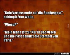 Kein Verlass Mehr Auf Bundespost Schimpft Frau Lustige Bilder Spruche Witze Echt Lustig
