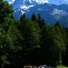 Mont Blanc & a hamster car :-)