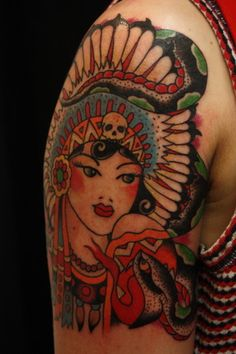 Indian Princess sleeve