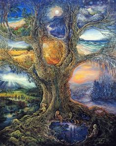 Tree of Other Lands - Josephine Wall