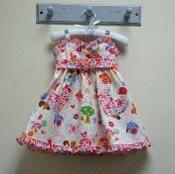 Little Cup Cake Dress Pattern