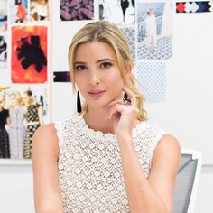 ELLE Accessories Director Maria Dueñas Jacobs talked to Ivanka about her enviable jewelry collection. #IvankaTrumpJewelry