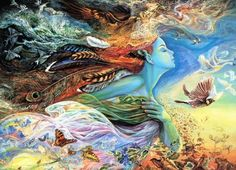 """Enjoy my original poem """"Painting You With Words"""" Artwork by Josephine Wall ♥ ♥   www.paintingyouwithwords.com"""