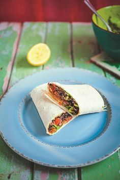 These Tex-Mex burritos are delicious, filled with beans, rice and plenty of 