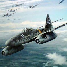 . . . O Messerschmitt Me 262 foi o primeiro caça a jato do mundo a entrar em operação. Além dos motores a jato, também o seu ...