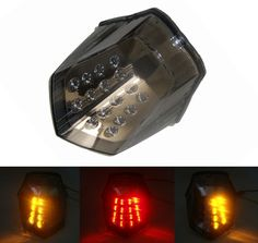 For YAMAHA XJ6 Diversion F 2010 2011 2012 2013 2014 2015 2016 E-Mark Tail Light Brake Turn Signals Integrated LED Light #Affiliate