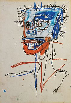 Jean-Michel Basquiat was a Neo-Expressionist painter in the He is best known for his primitive style and his collaboration with pop artist Andy Warhol. Jean Basquiat, Jean Michel Basquiat Art, Basquiat Artist, Basquiat Prints, Basquiat Tattoo, Basquiat Paintings, Sgraffito, Pablo Picasso, Graffiti Art