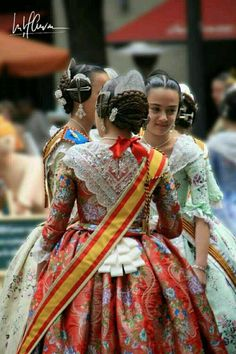 Fallas 2014. Traditional dress. Spain