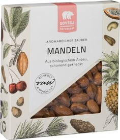 Almonds* - Vega Almonds are not only tasty and vertile but also extremely healthy! Hildegard von Bingen, a German nun and medical visionary of the century, already knew about the positive asp Almonds, Place Card Holders, Tasty, Vegan, Healthy, Health, Almond