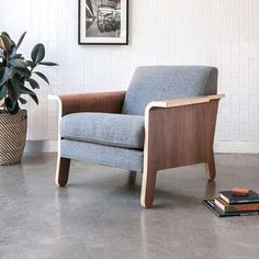 GUS* Modern Lodge Lounge Chair | YLiving