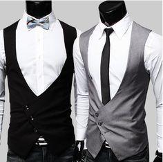 Men's Irregular Vest