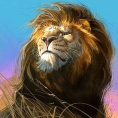 """Lion"" @AaronBlaise"
