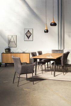 Flex, spisebord og skænk   Kristensen&Kristensen