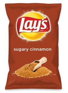 Wouldn't sugary cinnamon be yummy as a chip? Lay's Do Us A Flavor is back, and the search is on for the yummiest flavor idea. Create a flavor, choose a chip and you could win $1 million! https://www.dousaflavor.com See Rules.