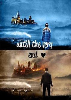 HP..the very end. Always.